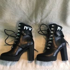 DKNY Black Boots